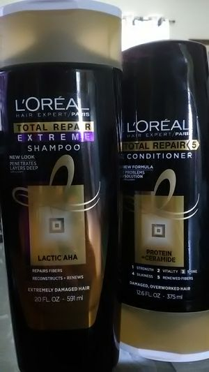 L`Oreal Total Repair Protein + Ceramide Shampoo & Conditioner for Sale in Frostproof, FL