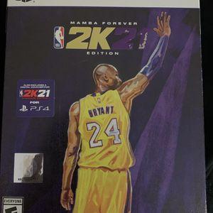 Nba 2k21 Mamba Edition PS4/PS5 for Sale in Fairfax, VA