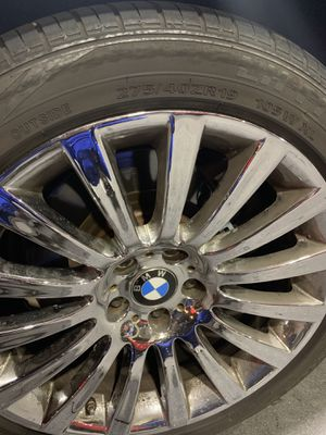 19 BMW RIMS. ONE SET. 4rims for Sale in West Los Angeles, CA