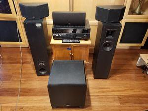 Klipsch speakers and reciever for Sale in Phoenix, AZ