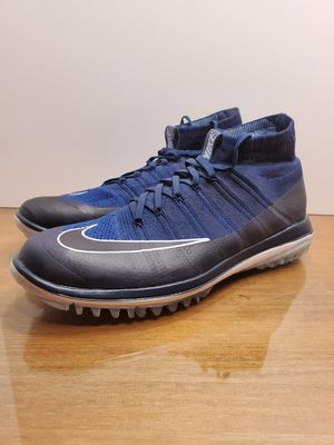 NIKE FLYKNIT ELITE NAVY GOLF CLEATS MENS...SZ 10...BRAND NEW for Sale in Bakersfield, CA