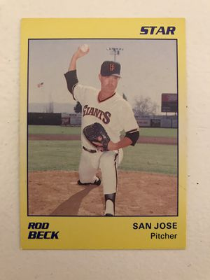 Baseball card Rod Beck for Sale in Nashville, TN