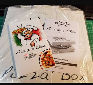 CuiZen PIZ-4012 Pizza Box Oven White- NIB. Port Orchard pick up for Sale in Port Orchard, WA