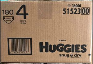 Huggies size 4 Snug Dry diapers for Sale in Downey, CA