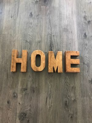 """HOME"" room decor, letter, thick for Sale in Vancouver, WA"