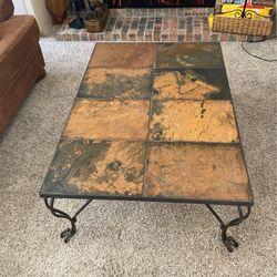 Coffee Table (slate Top) for Sale in Tualatin,  OR