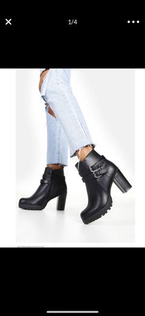 Brand new black platform boots for Sale in San Francisco, CA