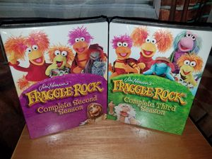Jim Henson's Fraggle Rock DVD Box Set Complete Second & Third Season Kids Lot New Sealed for Sale in Tampa, FL