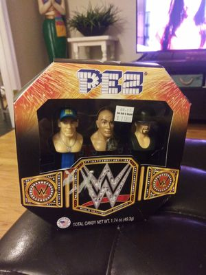 WWE Pez Collector Set for Sale in Gaithersburg, MD