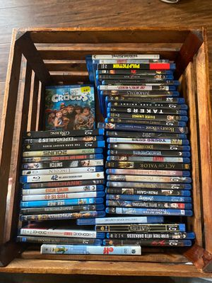 50 Blu Rays assorted movies for Sale in Frederick, MD