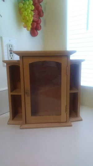 SMALL GLASS DOOR SHELF for Sale in Baltimore, MD