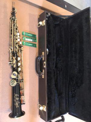 La sax impact black soprano sax for Sale in Lynnwood, WA