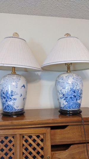 Vintage hand painted porcelain lamps for Sale in Prescott, AZ