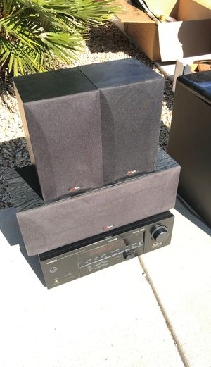 Polk Audio Speaker Sound System with Subwoofer for Sale in Sun City, AZ
