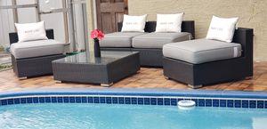 Outdoor patio furniture/outdoor patio set/outdoor patio sectional/patio chairs/outdoor seatings/juego se patio/muebles de patio for Sale in Pembroke Pines, FL