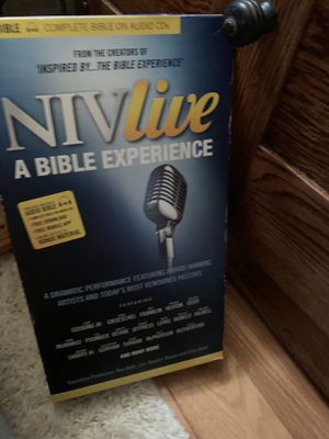 Complete bible on cd porch pickup only for Sale in Concord, NC