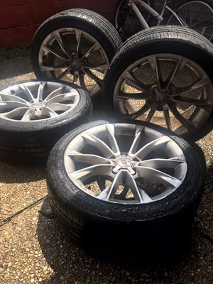 """18"""" Audi A5 Rims and Tires (245/40R 18) for Sale in Baton Rouge, LA"""