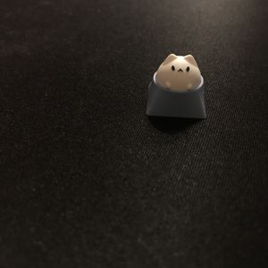 Hammer Bubble Cat Artisan Keycap (Chery MX Switches and clones) for Sale in City of Industry, CA