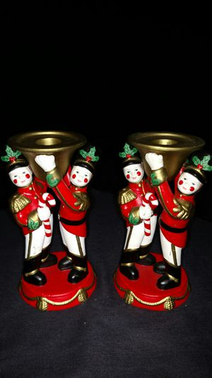 PartyLite Toy Soldiers Set of 2 Candle Holder for Sale in Largo, FL