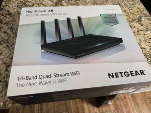 Netgear NightHawk X8 AC5300 tri-band quad-stream WiFi Router for Sale in Edmond, OK