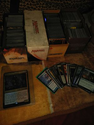 4 different Magic card sets for Sale in Kansas City, KS