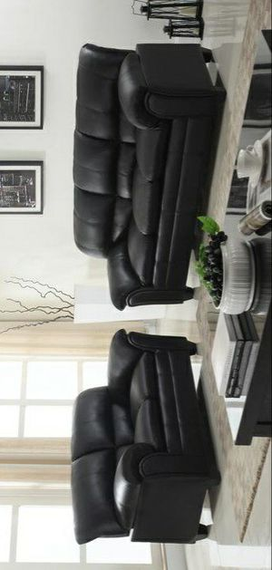 ✔39$ Down Payment 🆕️Halo Black Sofa & Loveseat | U5192 for Sale in Beltsville, MD