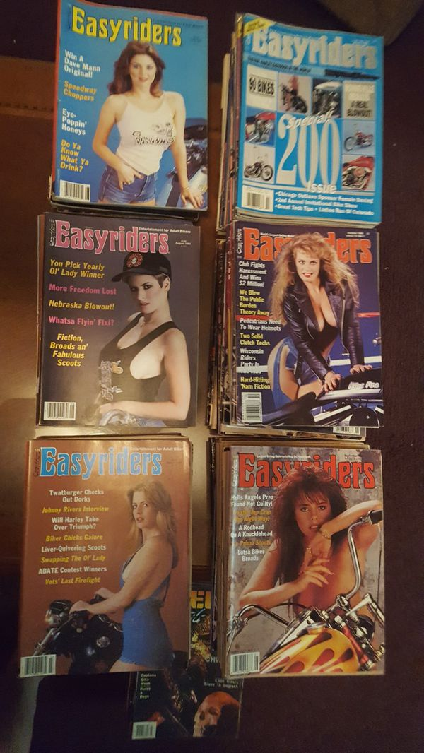 Easy Rider magazine all in excellent condition