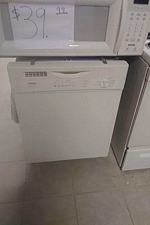 Newer Kenmore dishwasher