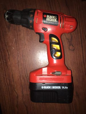Black and Decker Screw Driver 14.4 for Sale in Columbus, MS