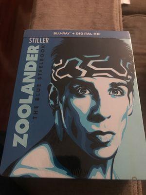 Zoolander - the blue steelbook for Sale in Germantown, MD