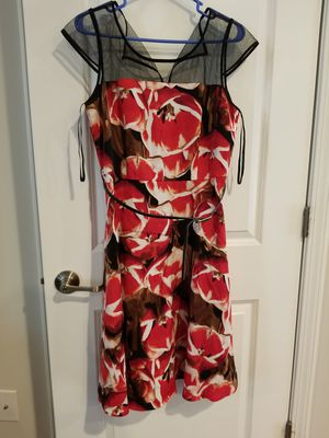 Liz Claiborne size 12 belted floral dress for Sale in Durham, NC