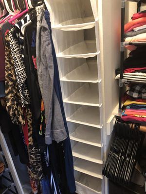 Closet Organizer/ Shoes Rack for Sale in Rancho Cucamonga, CA