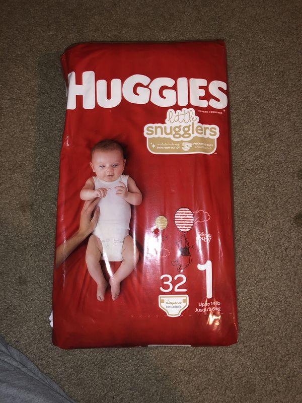 Diapers Pampers & Huggies
