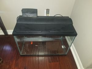 20 Gallon Aquarium with ALL THE STUFF for Sale in Houston, TX