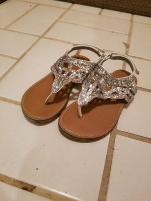 Toddler Girls Size 9 Sandals for Sale in Aurora, IL