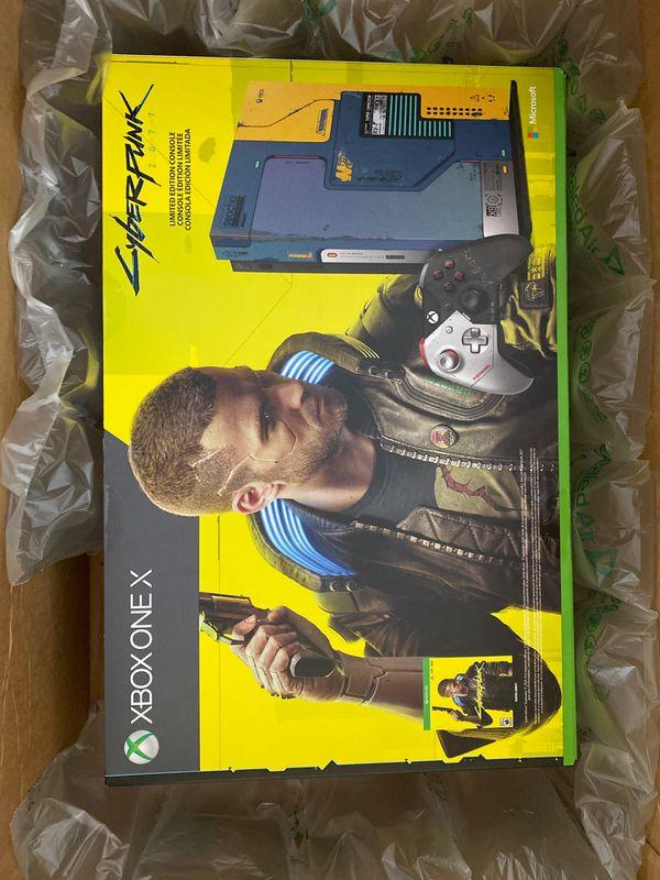 Microsoft Cyberpunk 2077 limited edition Xbox One X Console