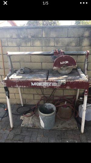 MK 212 tile saw for Sale in Orange, CA