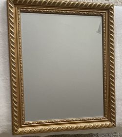 Beautifully Detailed Gold Trim Mirror for Sale in Henderson,  NV