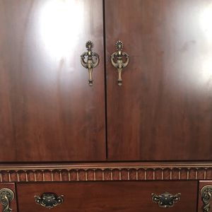 Armoire And A Matching Dresser With mirror (not Pictured Yet) for Sale in Orangeburg, SC