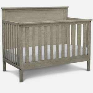 Delta Children Middleton 4-in-1 Convertible Baby Crib, Textured Limestone for Sale in Fort Worth, TX