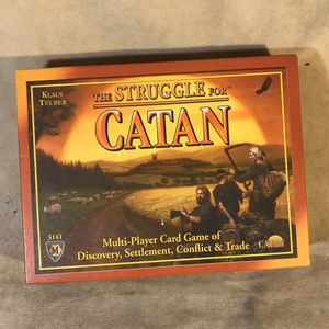 The Struggle for Catan Card Game for Sale in Seattle, WA