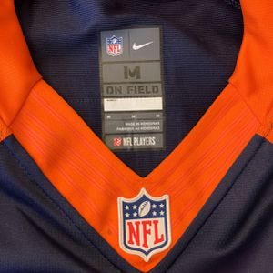 Peyton Manning Authentic Broncos Jersey #18 Medium Size Practically New for Sale in Issaquah, WA