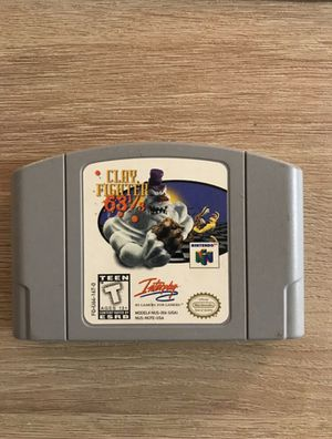 Clay Fighter 64 - Nintendo 64 N64 Mint! for Sale in San Diego, CA