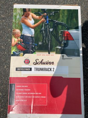 Schwinn bike rack Trunkrank 2 for Sale in Stoughton, MA