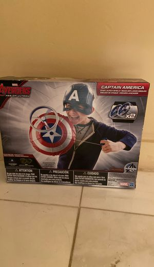 Captain America star launch shield for Sale in Miami Beach, FL