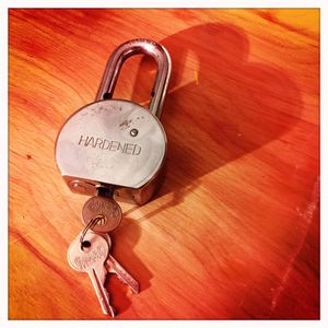 Large lock with keys for Sale in Jersey City, NJ