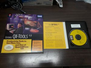 Extensis QX-Tools v 4.0 pack 3pcs for Sale in Los Angeles, CA