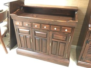Vintage Ethan Allen Antique Pine Dry Bar for Sale in Lake Grove, OR