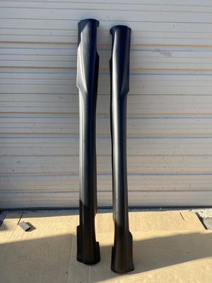 1998-2002 Mercedes CLK W208 Duraflex AMG Look Side Skirts Rocker Panels - 2 Piece - Part # 103046 for Sale in City of Industry, CA