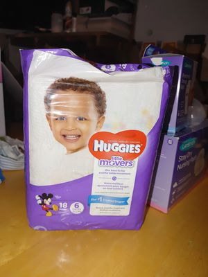 Huggies size 6 diapers for Sale in Philadelphia, PA